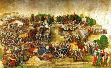 Da Vinci, Beteja e Marignanos dhe stratiotët shqiptarë