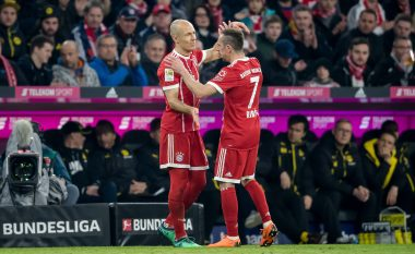 Robben dhe Ribery vazhdojnë kontratat me Bayernin