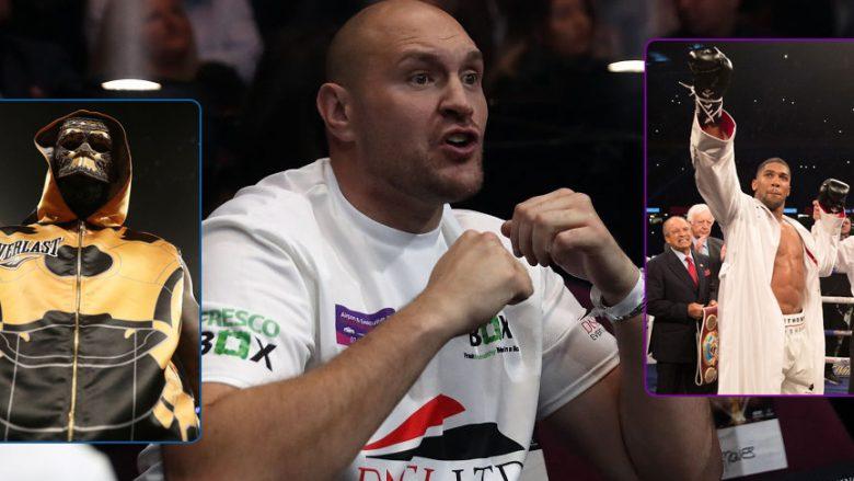 Fury: AJ mos u ndesh me Wilderin se do të mi rrëmbejë 50 milionët e mi duke të nokautuar, më lejo mua të të thyej