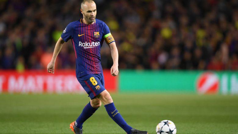 Gazeta katalunase: Iniesta ka vendosur të transferohet në Kinë, njoftimi i tij vjen pas finales së Copa del Rey