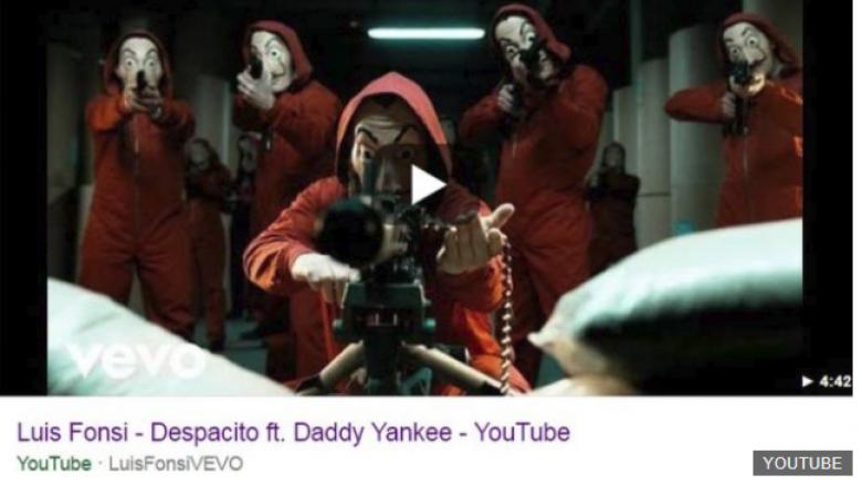 Hakohet 'Despacito' dhe shumë këngë tjera në YouTube