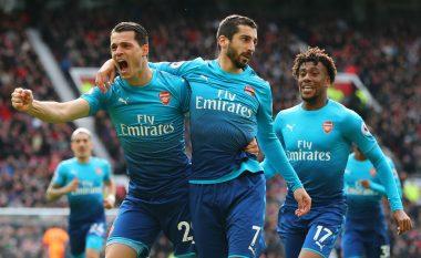 Man Utd 2-1 Arsenal, nota e Xhakës dhe të tjerëve