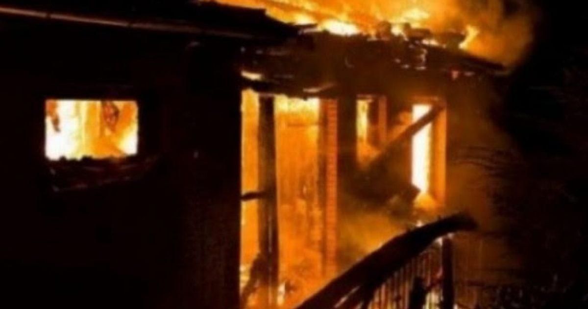 Drenas, personi në depresion djeg shtëpinë e tij
