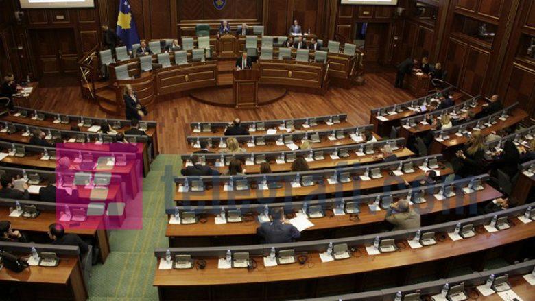 Kuvendi shqyrton pikat e papërfunduara nga shtatë seanca