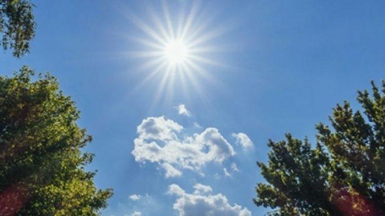 Vazhdon moti i nxehtë në Kosovë, sot diell dhe vranësira