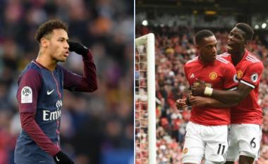 PSG dëshiron Pogban e Martialin, Unitedi kërkon Neymarin në këmbim