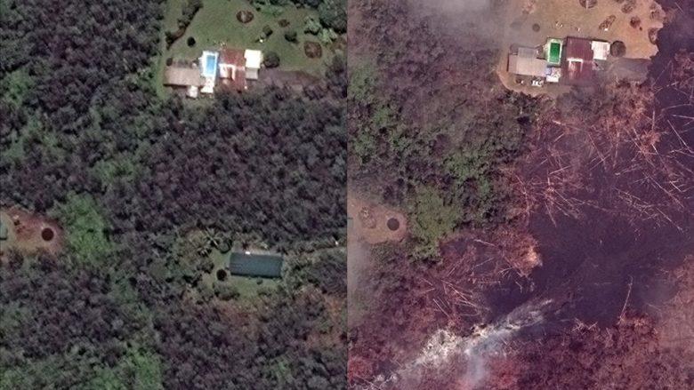 Para dhe pas shpërthimit të vullkanit në Havai (Foto)