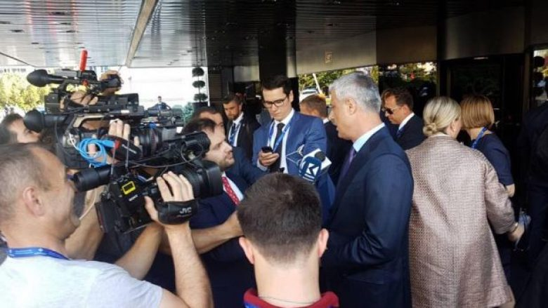 Presidenti Thaçi arrin në Sofje