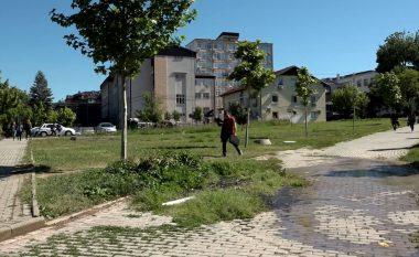 Ujërat e zeza vërshojnë kampusin e UP-së, duhet ndërrimi i kolektorit kryesor (Video)