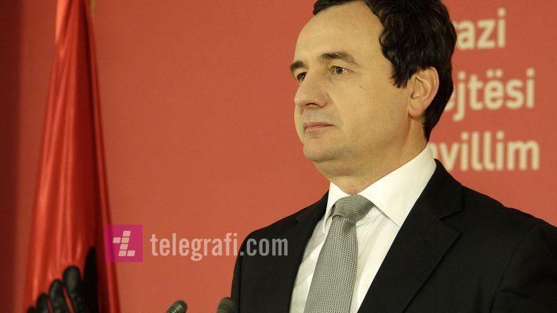 Kurti flet për takimin e mbrëmshëm Thaçi-Vuçiq