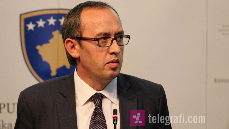 Hoti: Qeveria të involvohet në hartimin e Statutit të Asociacionit