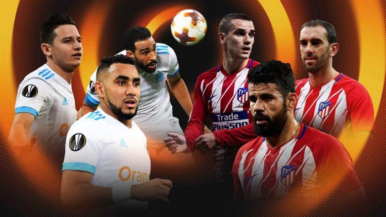 Statistika, analizë dhe parashikim: Marseille – Atletico Madrid