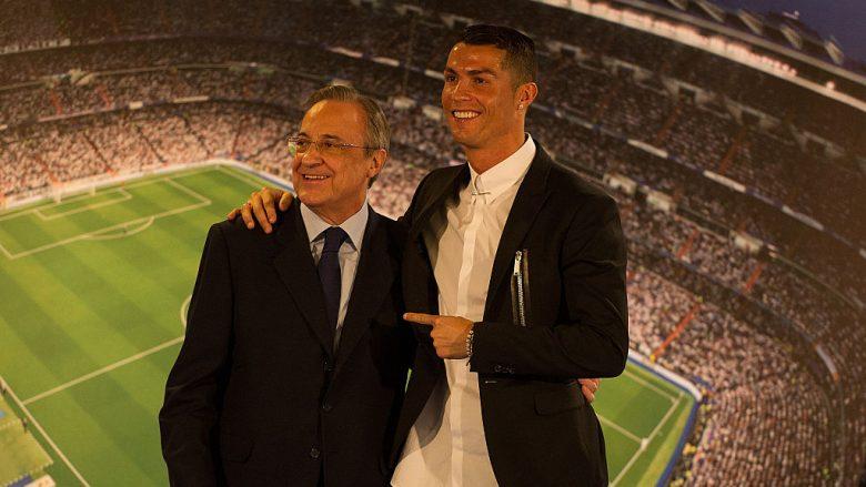 Perez flet për largimin e mundshëm të Ronaldos: Klubi është mbi individin, jam i lumtur për të