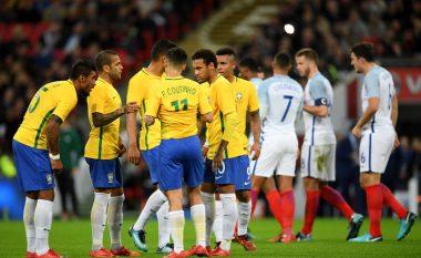Brazili publikon listën për Kampionatin Botëror, David Luiz, Dani Alves dhe Alex Sandro mbeten jashtë