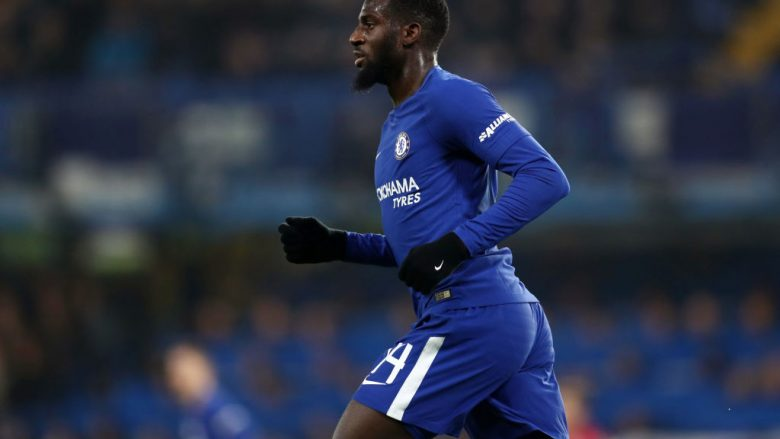 LONDON, ENGLAND - DECEMBER 20: Tiemoue Bakayoko of Chelsea during the Carabao Cup Quarter-Final match between Chelsea and AFC Bournemouth at Stamford Bridge on December 20, 2017 in London, England. (Photo by Catherine Ivill/Getty Images) *** Local Caption *** Tiemoue Bakayoko