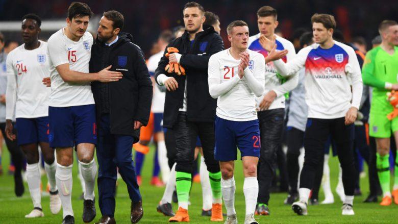 Anglia publikon listën e plotë, mbetet jashtë Hart, sundon Tottenhami