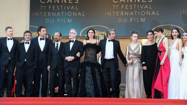 """attends the screening of """"Everybody Knows (Todos Lo Saben)"""" and the opening gala during the 71st annual Cannes Film Festival at Palais des Festivals on May 8, 2018 in Cannes, France."""