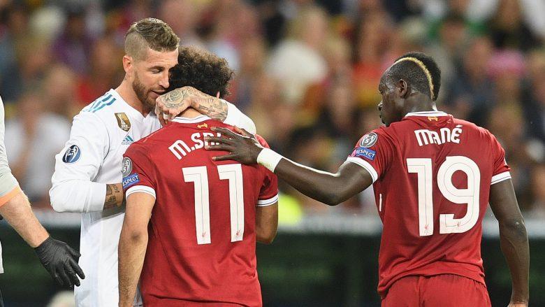 Ramos me mesazh emocionues për Salahun: Shërim të shpejtë Momo, mbi të gjitha ne jemi shokë