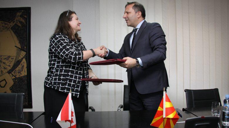 U nënshkrua memorandum bashkëpunimi në mes Qeverive të Maqedonisë dhe Kanadasë