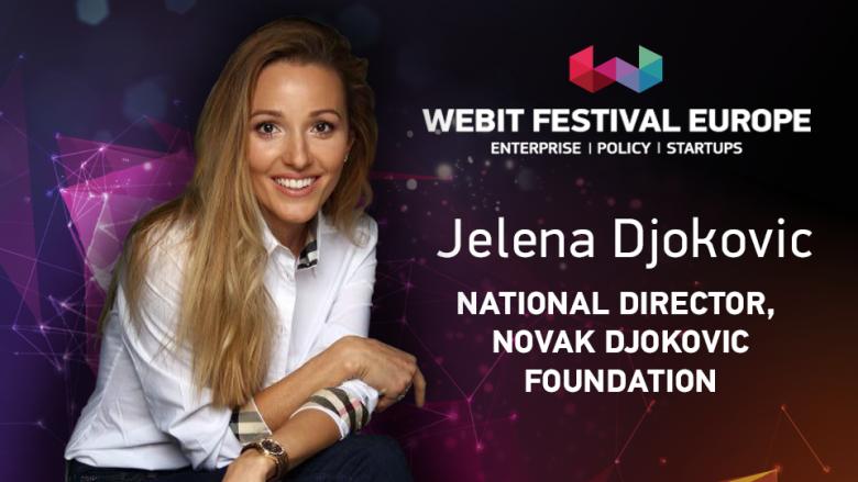 Jelena Djokovic i bashkohet Webit Festival në qershor 2018