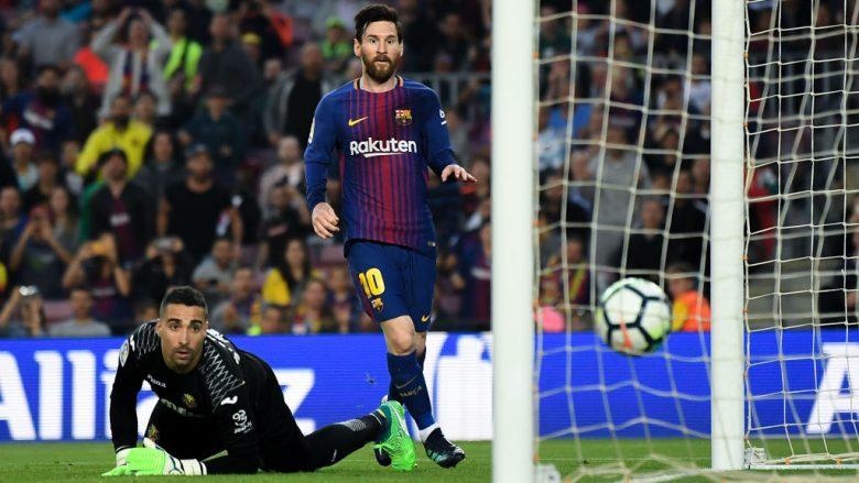 Messi në momentin e golit (Foto: Getty Images)