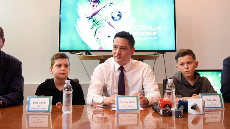 "Projekti ""Football for Friendship"", mbahet konferenca"