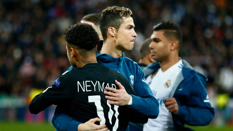 Cristiano Ronaldo - Neymar JR (Getty Images)