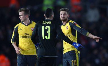 Emery bën gati pesë largime nga Arsenali, Mustafi në listë