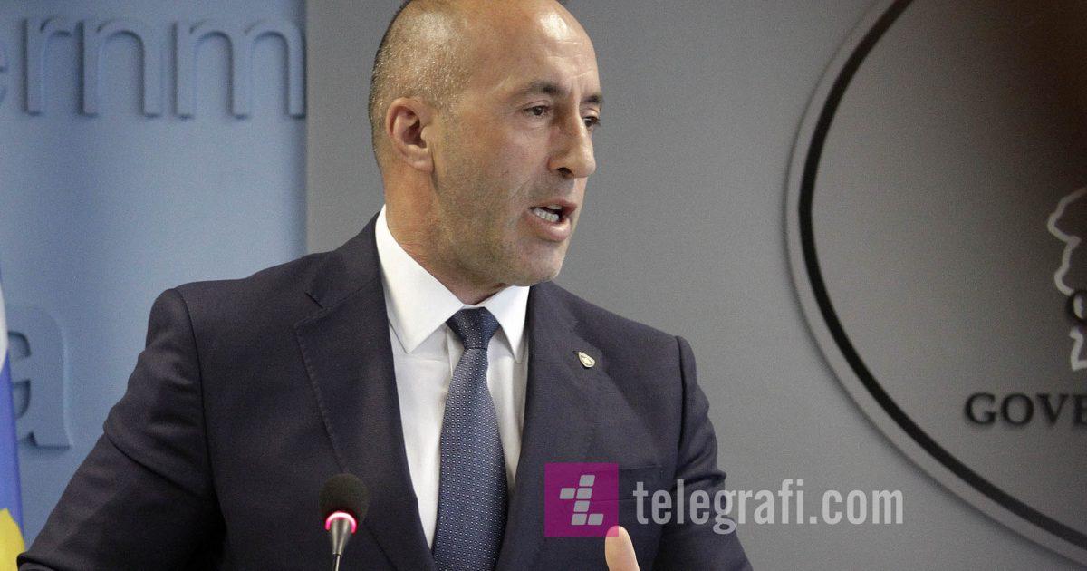 """Haradinaj: Nëse Serbia thotë """"kurrë s'e njohim Kosovën"""", ne kurrë s'e heqim taksën"""