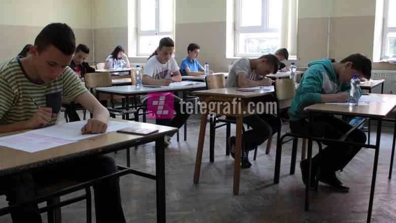 Semimaturanët sot i nënshtrohen testit të arritshmërisë