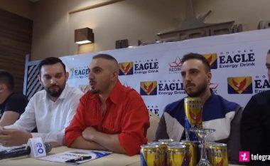 """Nënshkruhet marrëveshja në mes reperit Gjiko dhe """"Golden Eagle"""", artisti kosovar do të jetë imazhi i ri i pijes energjike (Video)"""