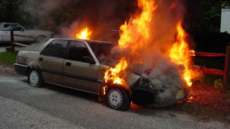 Digjet automjeti i pjesëtarit serb të FSK-së
