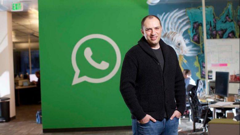 Themeluesi i WhatsApp largohet nga Facebook