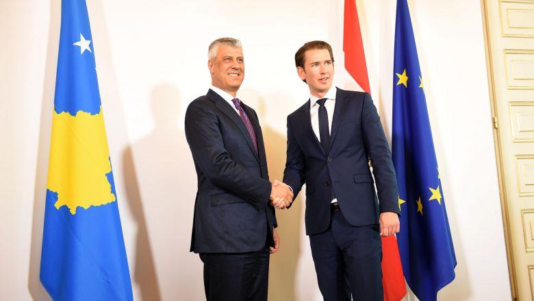 Kurz i thotë Thaçit: Ju përkrahim në liberalizimin e vizave
