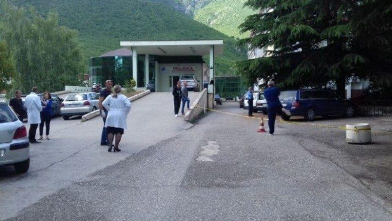 Shpërthehet mjeti i dyshimtë te Spitali i Pejës, ishin evakuuar edhe pacientët