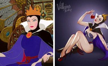 Artisti që shndërron karakteret e filmave të animuar në bukuroshe provokuese me poza 'të nxehta'