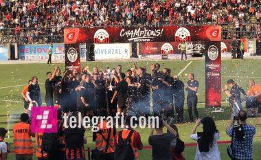 Tetova feston – Shkëndija kampion, Ballistët në ekstazë