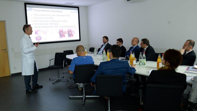 Mjekët nga Klinika Universitare e Frankfurtit do t'i trajnojnë mjekët nga Maqedonia