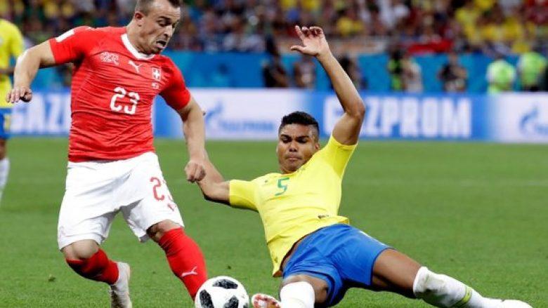 Shaqiri ishte i neturalizuar në sulm nga Brazili, Foto: Getty Images