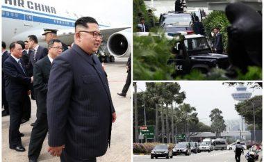 """""""Blindohet"""" Singapori, limuzina e Kim Jong-un eskortohet nga 40 motoçikleta dhe vetura (Foto/Video)"""