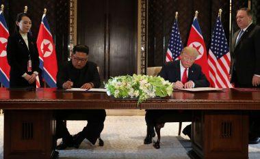 Dokumenti i plotë i nënshkruar nga Trump dhe Kim në Singapor (Foto/Video)