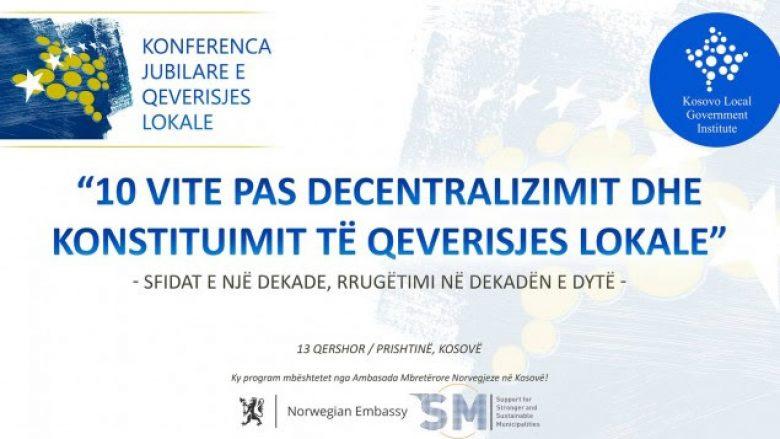 """Mbahet konferenca """"10 vite pas decentralizimit"""""""
