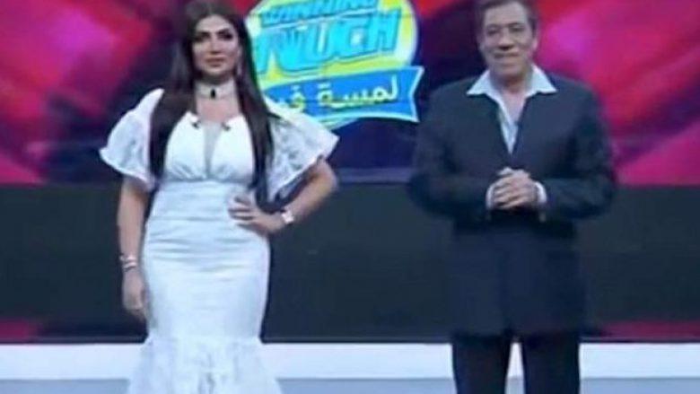 """Shikuesit ankohen për veshjen e saj të """"papërshtatshme"""", prezantuesja e Kuvajtit pushohet nga puna (Foto/Video)"""