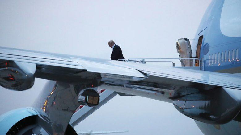 Për pesë ditë Trump vizitoi pothuajse gjithë globin, presidenti amerikan udhëtoi 38 mijë kilometra – 42 orë i kaloi vetëm në ajër (Video)