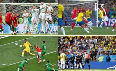 Shtatë mrekullitë e para të Kampionatit Botëror: Nga Coutinho e Ronaldo te Mertens e Quintero, secili gol më i bukur se tjetri
