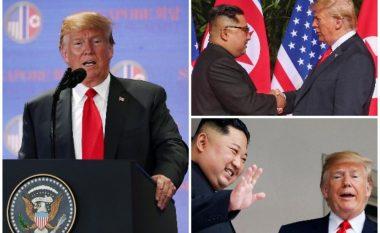 Trump i drejtohet botës pas takimit me Kim Jong-Un: Çdokush mund të bëjë luftë, por vetëm të guximshmit e sjellin paqen (Video)