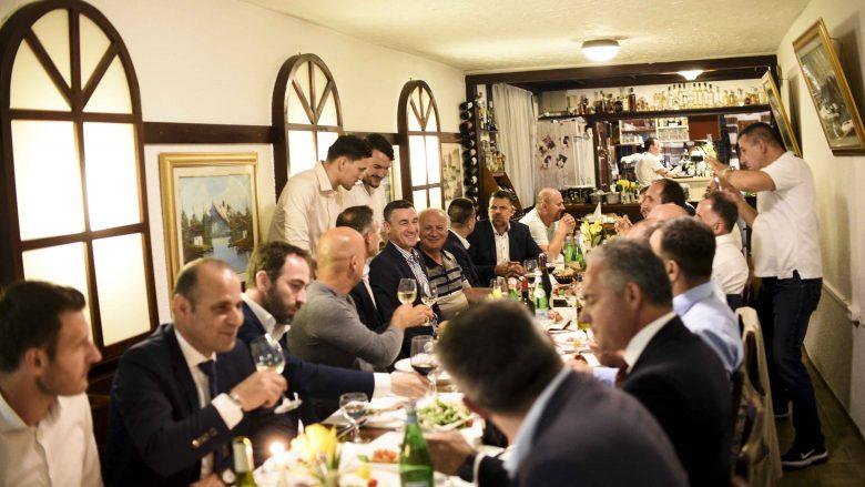 Veseli takon bashkatdhetarët në Shtutgart, bisedoi për investime në Kosovë
