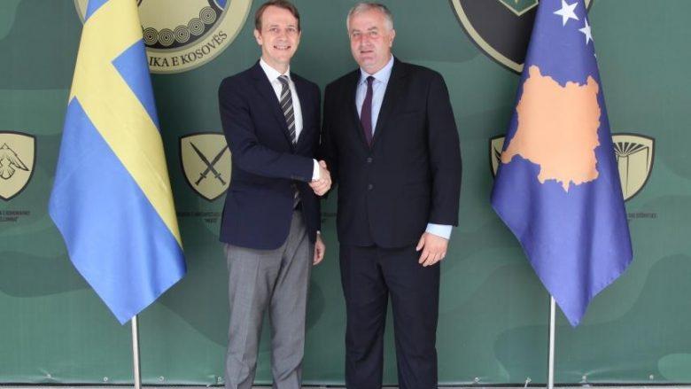 Monumenti për ushtarët e KFOR-it, Suedia falënderon Kosovën