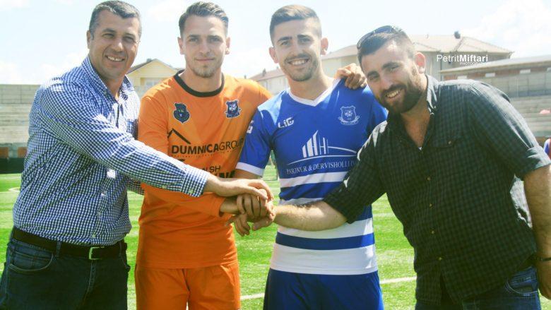 Zyrtare: Bledar Hajdini dhe Fiton Hajdari prezantohen tek Llapi