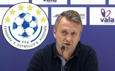 FFK sqaron gjithçka rreth logos, Salihu: Nuk mund ta ndryshojmë dy vite, logoja është unike
